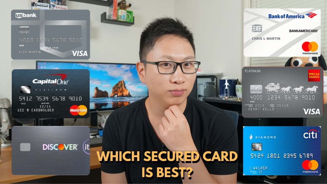 Comparing Secured Credit Cards from Major Issuers — AskSebby