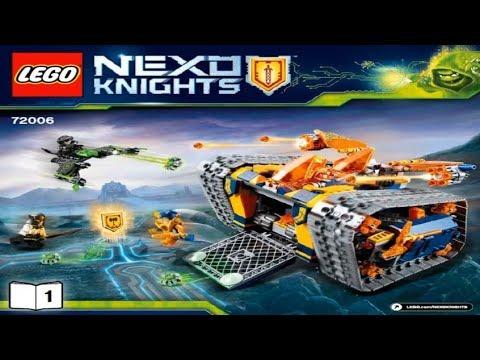 Конструкторы Lego LEGO Мобильный арсенал Акселя Nexo Knights 72006