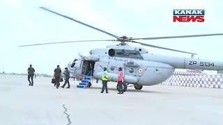 PM Modi Visits To Odisha And Reviews Cyclone Yaas Damages