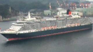 イギリスの最新鋭豪華客船クイーン・ヴィクトリア