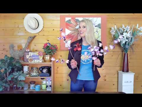 How To Create A Decorative Floral Table Display With Bees