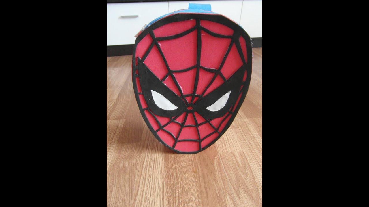 Manualidades mochila spiderman de goma eva paso a paso - Manualidades para adultos paso a paso ...
