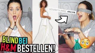 BLIND bei H&M BESTELLEN 2😱 (Hochzeitskleid & 500€ Outfit) | Mone