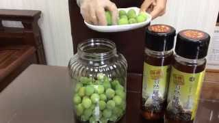 蜂國蜂蜜莊園-蜂蜜梅子酵素DIY