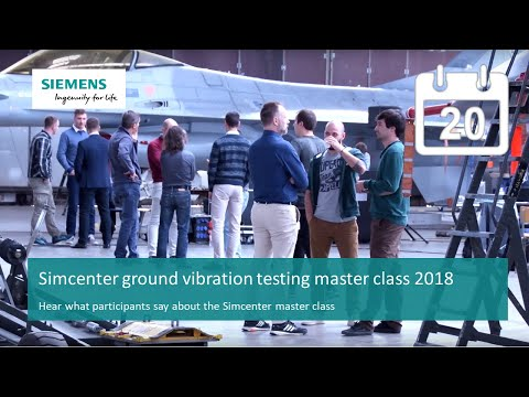 [Simcenter] Ground Vibration Testing Master Class 2018