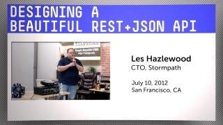 Designing a Beautiful REST+JSON API