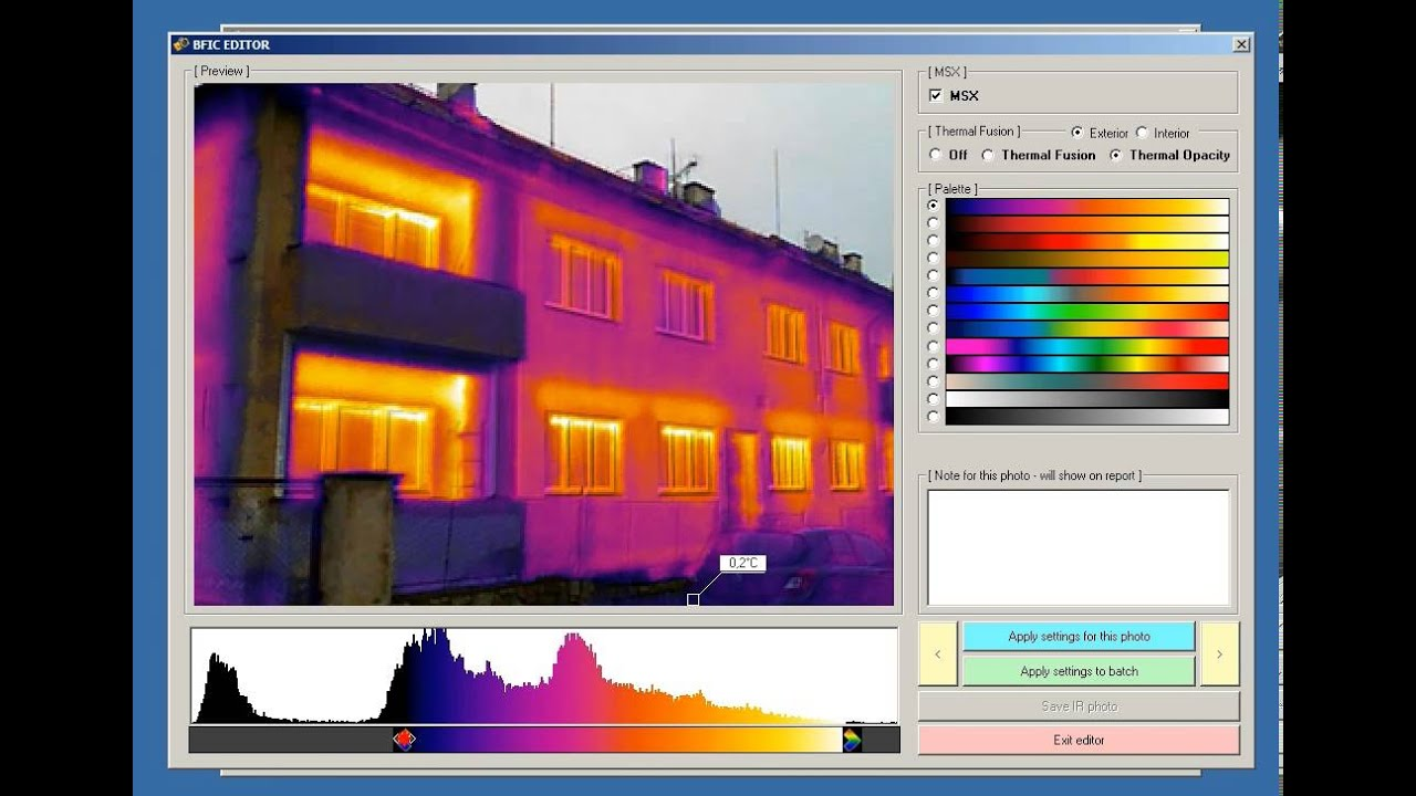 Batch Thermal Images Converter