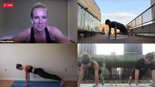 Livekick Group Fitness on Live Video