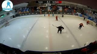 Шорт хоккей Мастер-Тур матч Тонадо - Ред Машин