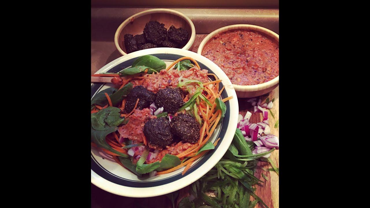 Raw noodles sauce veggieno meat balls pt 2 youtube forumfinder Images