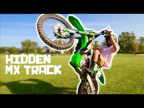 INSANE HIDDEN MOTOCROSS TRACK!!!