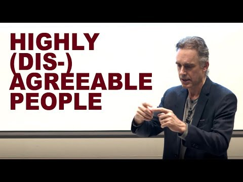 Jordan Peterson: The Mind of Highly (Dis-)Agreeable People