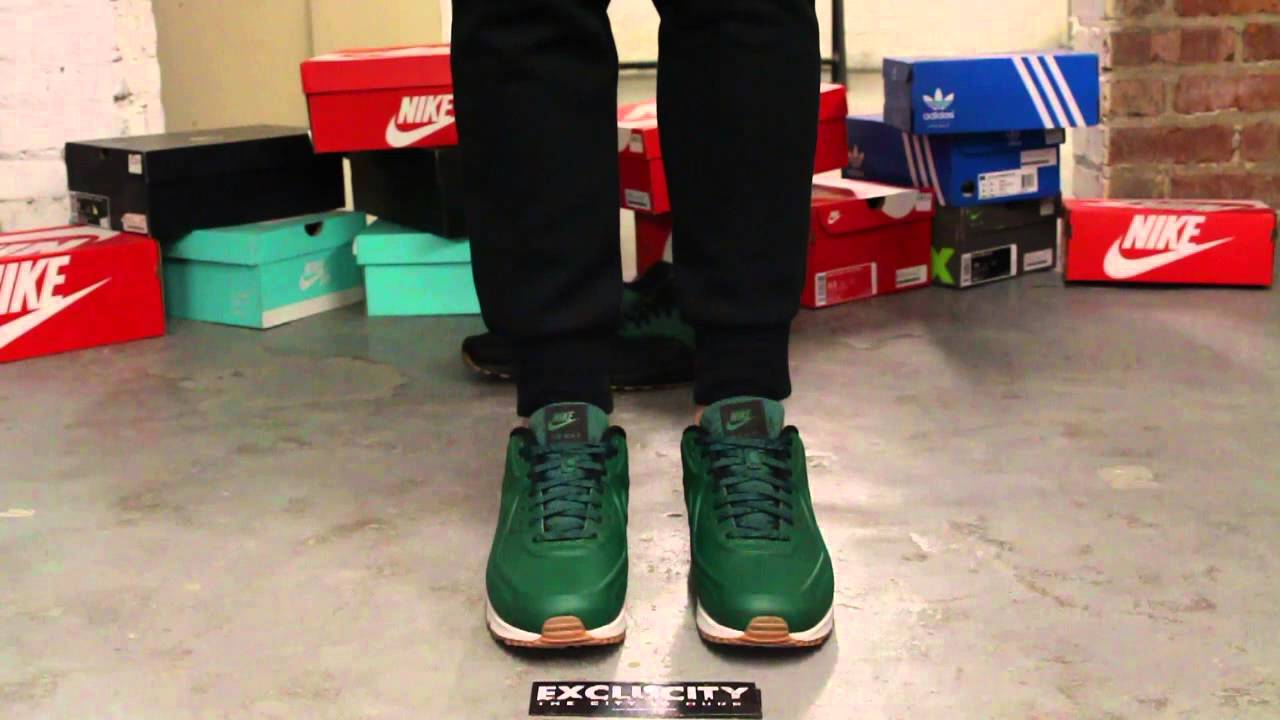 Air Max 90 VT QS Gorge Green On feet Video at Exclucity
