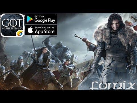 Новая стратегия на телефон - Game Of Thrones: Winter Is Coming - первый взгляд, обзор (Android Ios)