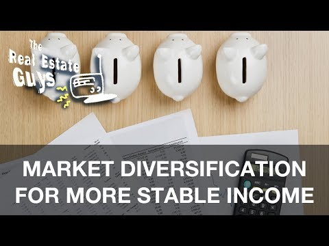 Market Diversification for More Stable Income