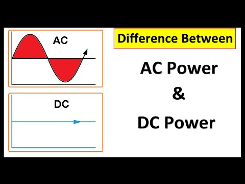 AC vs DC in details