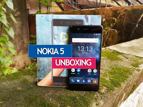 Nokia 5 Unboxing, Hands on, Camera Samples and Software Features
