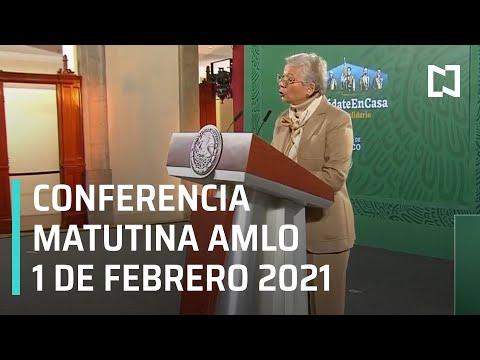 Conferencia matutina AMLO/ 1 de febrero de 2021