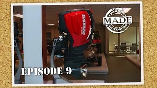 """Made for the Outdoors (2015) EPISODE 9: """"Evinrude Boat Motors"""""""
