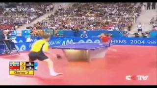 Table Tennis Olympic Games 2004 Round Of 16 Jan Ove WALDNER-MA LIN