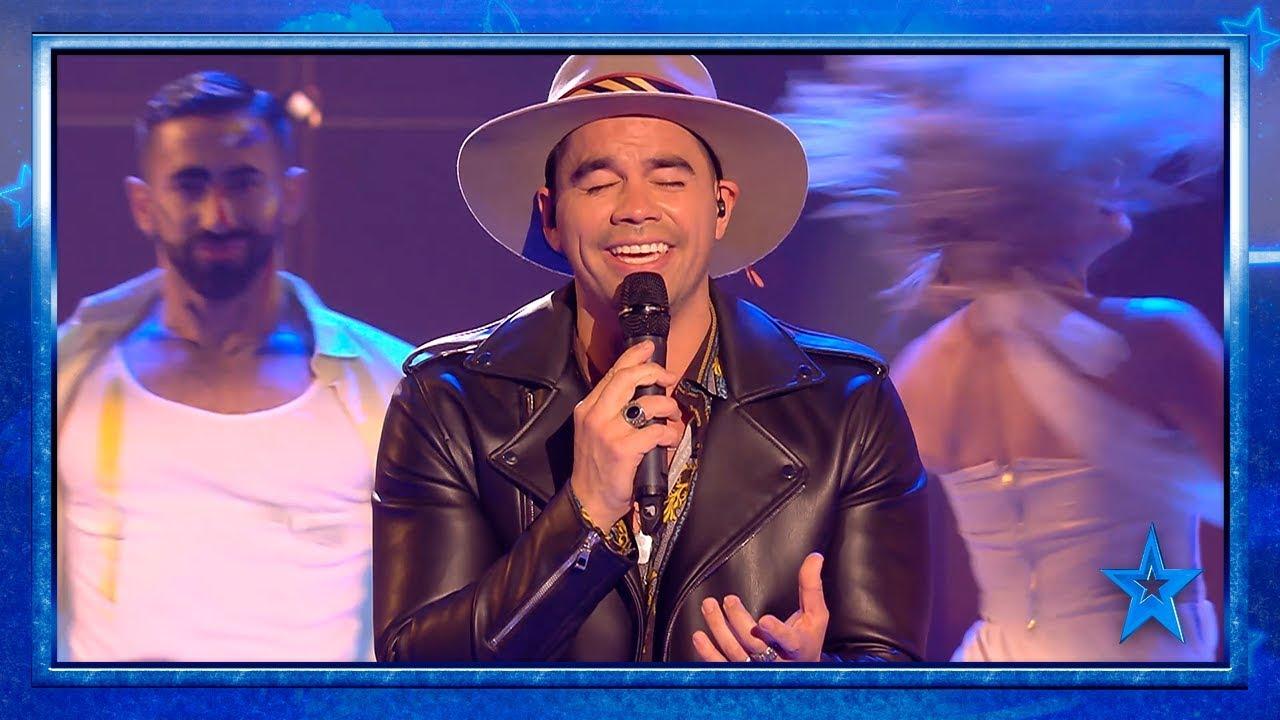 Daniel Huen se atreve con un TEMA PROPIO   Semifinal 3   Got Talent España 2019