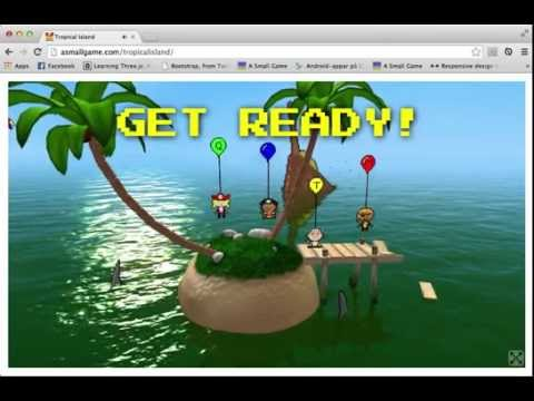 Tropical Island - WebGL Game by A Small Game