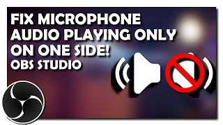 Zapętlaj How to Fix Microphone Audio Playing On One Side in OBS Studio | nutella4eva
