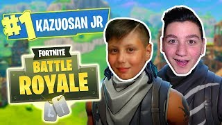 VITTORIA REALE with kazuosan Junior your Fortnite?! 😱