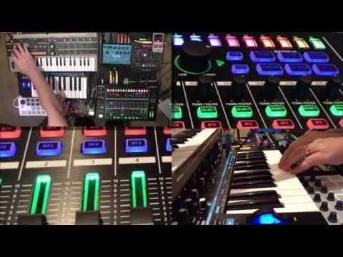 A Coffee Table Jam - Roland MX-1, Streichfett, BeatStep, Volca
