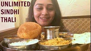 Authentic SINDHI FOOD in Mumbai | Unlimited Indian Thali