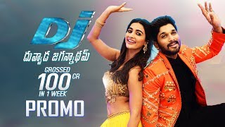 Dj duvvada jagannadham movie grossed 100cr promo | allu arjun | pooja hegde | tfpc