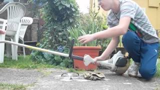 čištění křovinořezu FS38