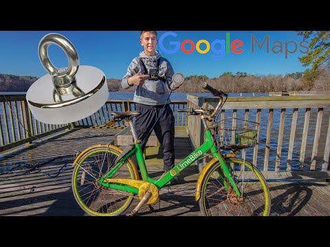 Magnet Fishing NEW Spots Using Google Maps