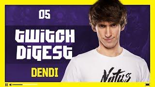 Twitch Digest: Dendi #5 - Golden Staff [RU/EN]