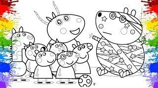 Desenho da Peppa Pig Português Brasil | Jogo de Pintar Desenhos animados | Peppa Pig portugues