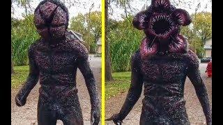 Dikira Penampakan Monster TAPI Ternyata,..6 Kostum Cosplay Superhero Dan Film Paling Mirip Aslinya