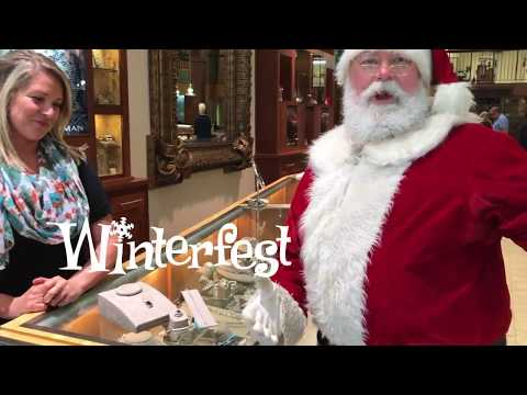 Santa Shops for Mrs .Claus in Downtown Pensacola - Jewelers Trade