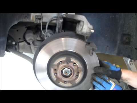 rear brake rotor replacement w203 w202 w208 w210 doovi. Black Bedroom Furniture Sets. Home Design Ideas