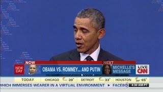 Inside Politics: Obama vs. Romney... and Putin