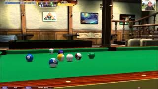 Straight pool - Virtual Pool 4 - 58 Break