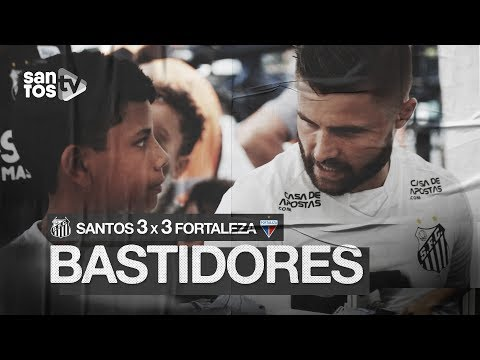 SANTOS 3 X 3 FORTALEZA | BASTIDORES | BRASILEIRÃO (25/08/19)
