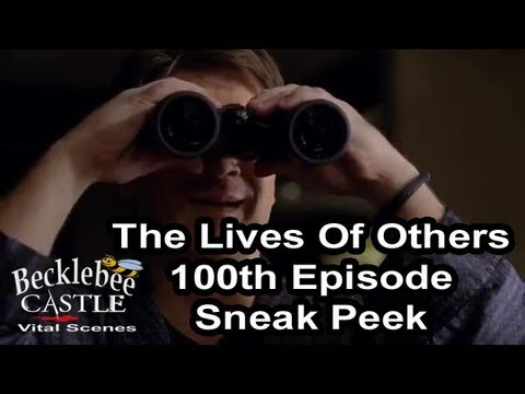 """Castle 5x19 Sneak Peek 3 """"The Lives Of Others"""" 100th  Episode Castle Thinks He Saw A Murder 4/1/13"""