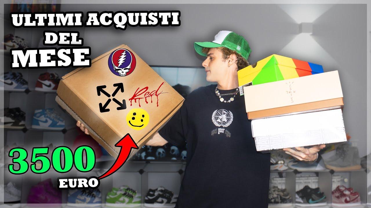 3500€ UNBOXING: ULTIMI ACQUISTI DEL MESE!