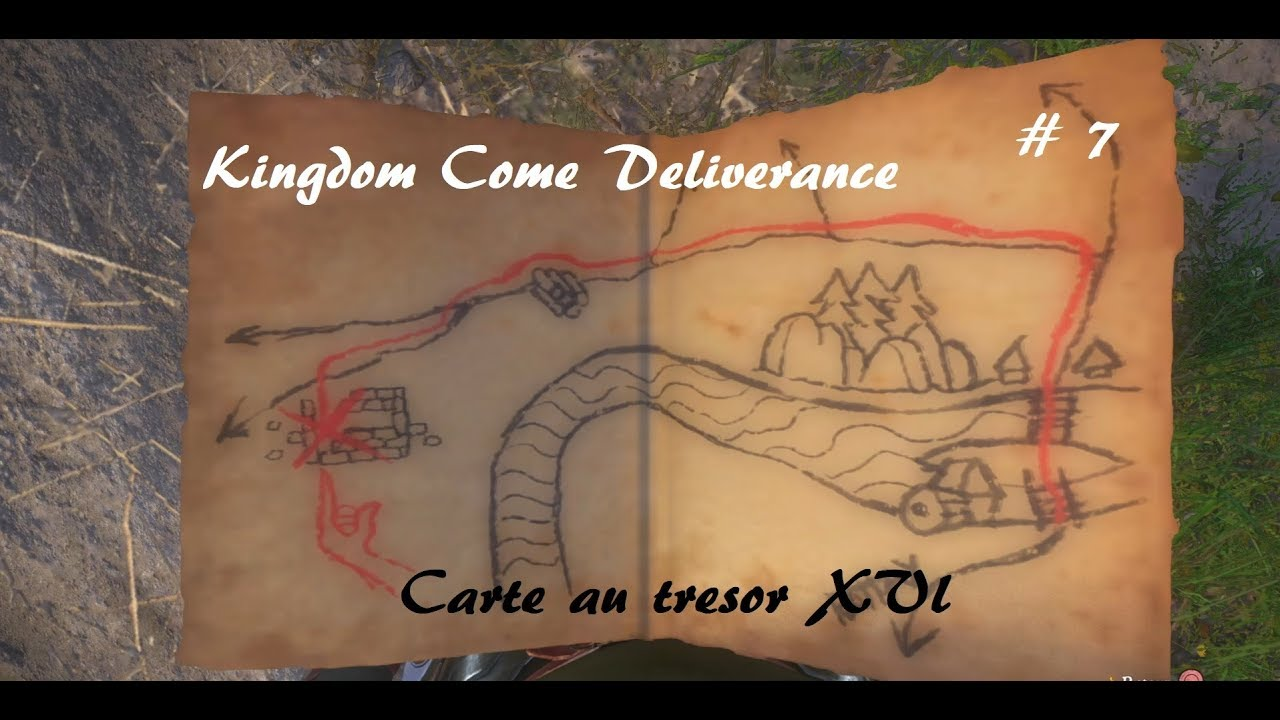 Carte Au Tresor 3 Kingdom Come.Kingdom Come Deliverance Carte Au Tresor Xvi Dlc