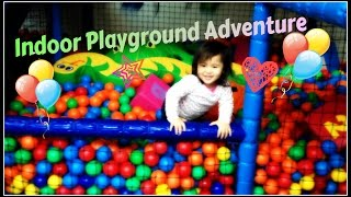 Fun Indoor Playground for Children | Learning Colours with Sofia