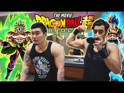 I MET TIGERUPPERCUTMEDIA ILR?! Chest Day & DBS Broly Movie W/Tiger | Vlogwaad