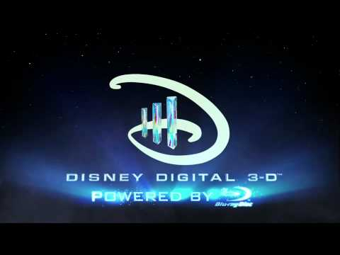 Disney Digital 3D Logo Intro Trailer