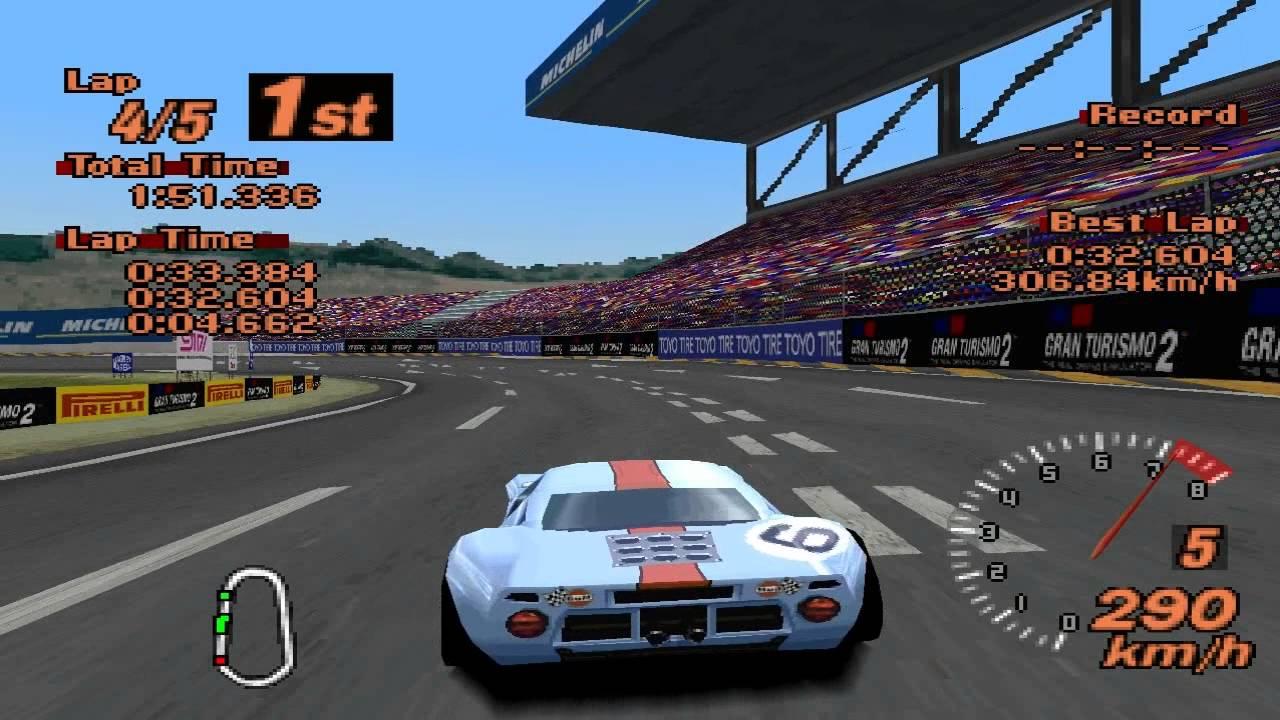 Gran Turismo  Super Speedway Ford Gt  Race Car Epsxe
