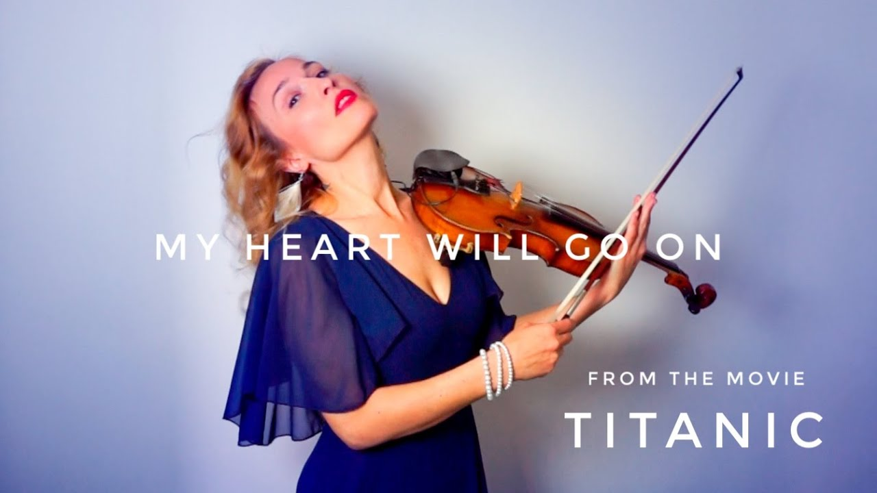 ANGIE - My Heart Will Go On (Titanic) – Céline Dion (Violin Cover) 🎻💙