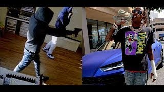 Rich The Kid Robbed Gun Point Security Pistol Whip After Flexing Money On Instagram..DA PRODUCT DVD